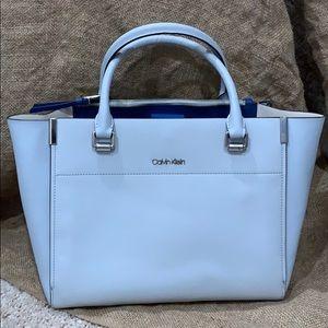 BRAND NEW Calvin Klein blue tote bag